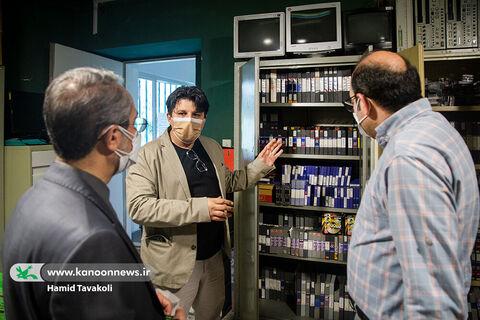 بازدید مدیرعامل از بخشهای مختلف معاونت تولید کانون