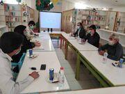 برگزاری نشست مشترک کانون پرورش فکری و آموزش و پرورش شهرستان حاجیآباد