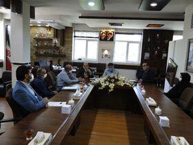 نشست مشترک مدیر کل کانون استان اصفهان با شهردار و اعضای شورای شهر نجف آباد
