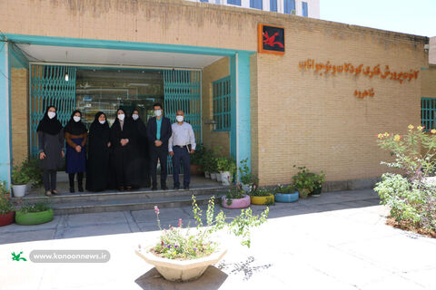بازدید و دیدار مدیران فرهنگی کمیته امداد و کانون استان سمنان به قلم دوربین