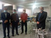بازدید مدیر کل کانون استان اصفهان از کارگاه معرق سنگ علویجه