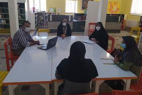 بازدید مدیرکل کانون استان همدان از مرکز فرهنگیهنری شهرستان بهار