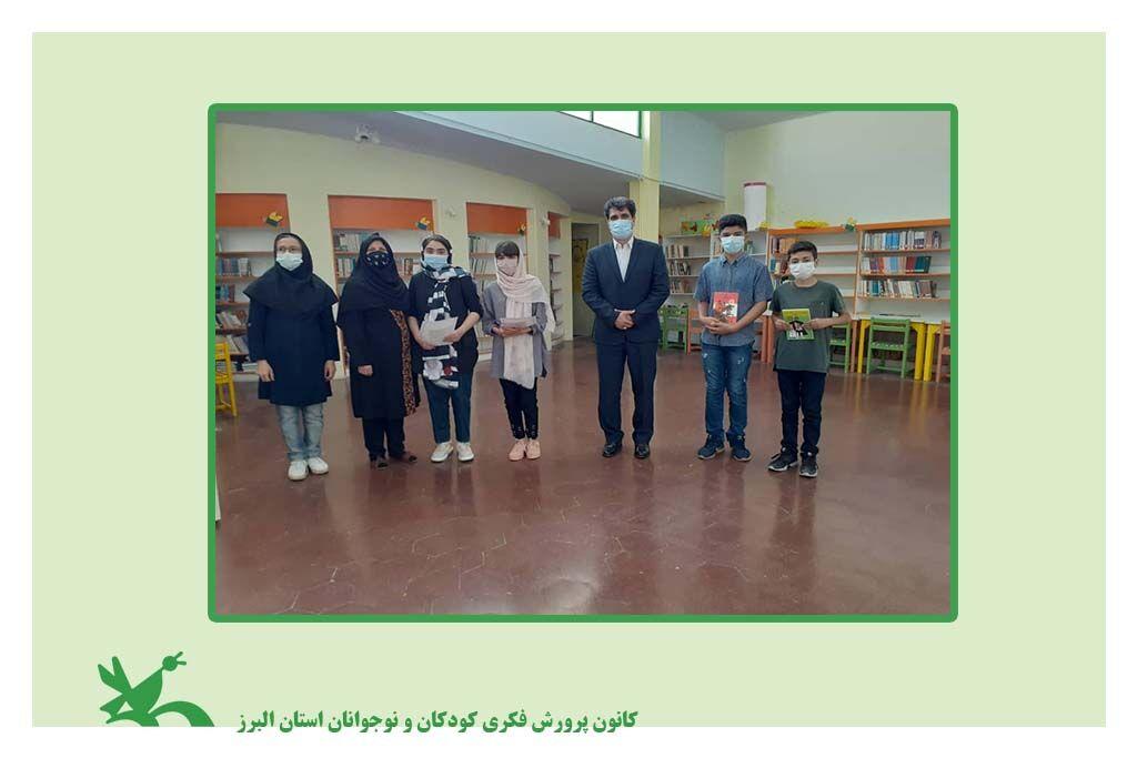 بازدید مدیر کل کانون البرز از فعالیتهای مجازی مرکز شماره 1 کانون کرج