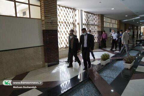 بازدید مدیرعامل از مجتمع کانون در شهرک قدس تهران