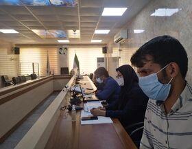 نشست مجازی کانون پرورش فکری با مدیران مدارس حاجیآباد