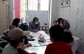 بازدید مدیرکل کانون استان اردبیل از فعالیتهای پیک امید و امداد فرهنگی