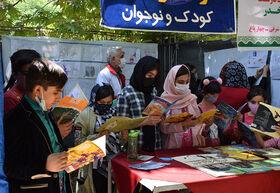 حضور کتابخانههای سیار کانون لرستان در محلات خرمآباد