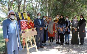پارک شهر مراوهتپه، میزبان نمایشگاه نقاشیهای عضو کانون پرورش فکری