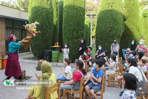 نمایش محیطی «نترسک» در فضای باز مرکز تئاتر کانون