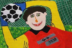 کودک هنرمند خوزستانی در المپیاد هنری آمریکا درخشید