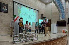 اهداء ۱۰۰۰ جلد کتاب به کتابخانه کودکان «مجتمع شوق زندگی» مشهد