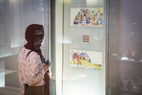 برپایی نمایشگاه تصویرگری در موزه ملی هنر و ادبیات کودک کانون