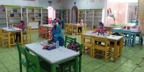 نگاهی به رونق تابستانی در مراکز فرهنگی و هنری کانون استان قزوین