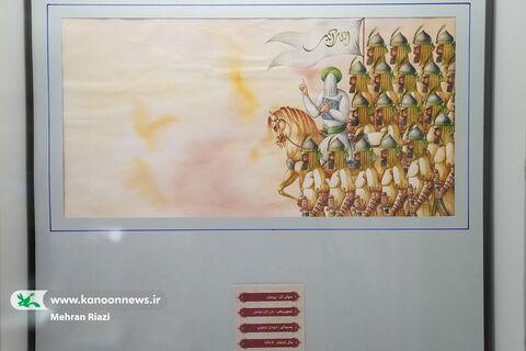 نمایشگاه تصویرگری نقش نور در موزه هنر و ادبیات کودک کانون