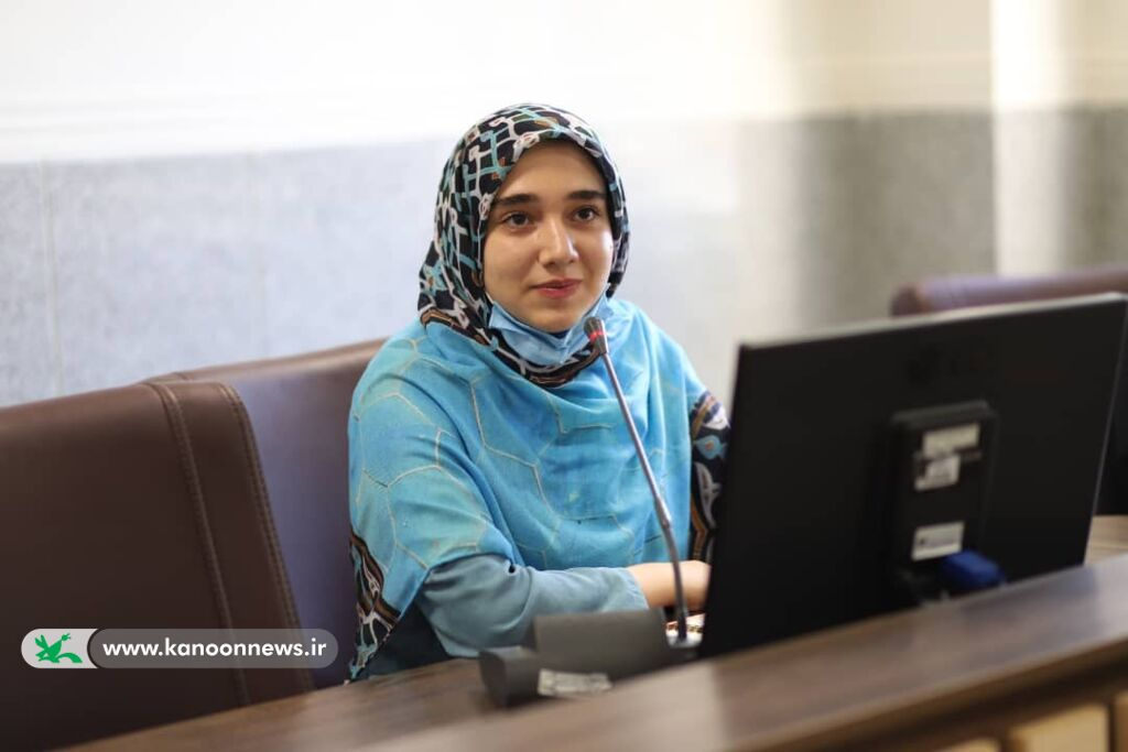 درخشش عضو نوجوان انجمن ادبی سپیدار کانون زنجان