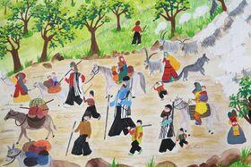کودکان خوزستانی در مسابقه نقاشی رومانی درخشیدند