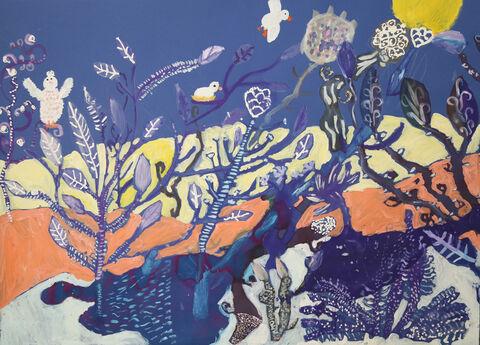 نقاشی «دانیال رضایی» ۱۰ ساله از مرکز شماره ۲۱  کانون تهران برنده نشان طلا از چهارمین مسابقه بینالمللی نقاشی کشور رومانی
