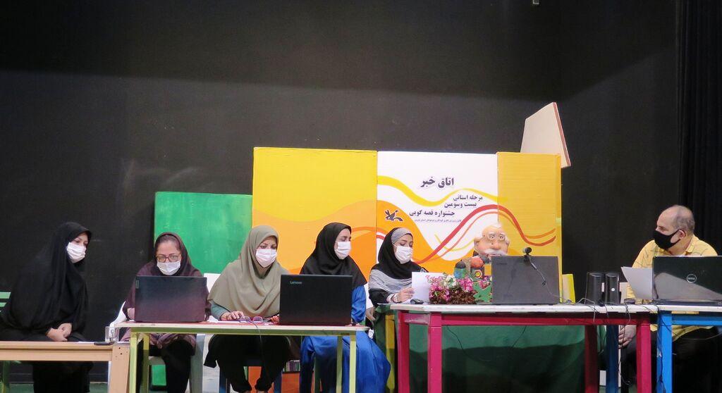 معرفی قصهگویان برگزیده استانی