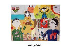 نفرات برتر مسابقه نقاشی روز ملی بدون دخانیات مشخص شدند