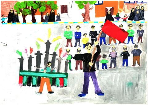حسین زارعی-10 ساله-کردستان
