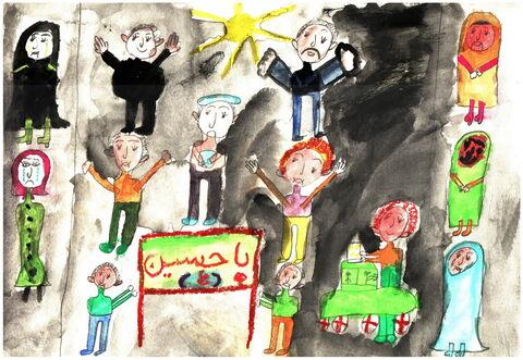 سارا کاویانی- 9 ساله- همدان