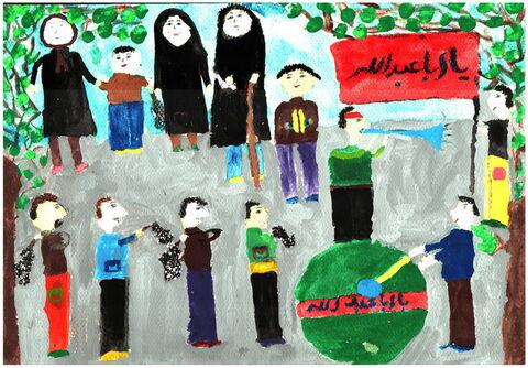 عسل حسین پور- 9 ساله- خراسان رضوی