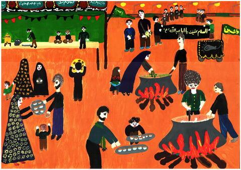 فاطمه اسلامی- 12 ساله- هرمزگان