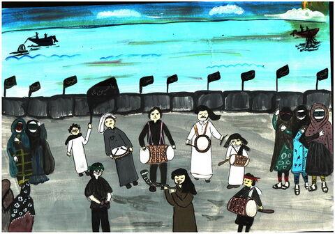 فاطمه سالمی- 12 ساله- بوشهر