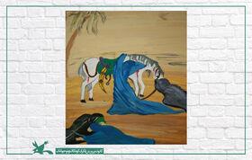 نمایشگاه مجازی «شمیم حسینی» در سمنان گشایش یافت