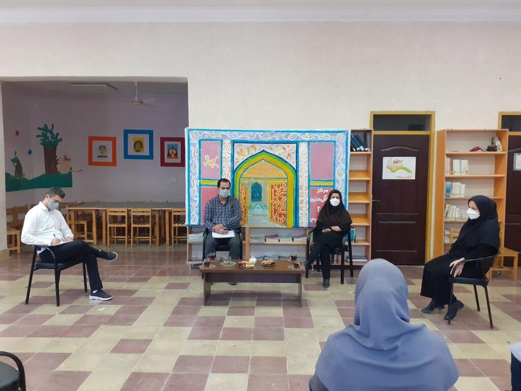 بازدید مدیرکل کانون از مراکز فرهنگیهنری گنبدکاووس