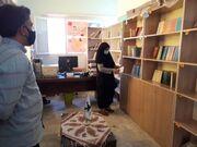 بازدید مدیر کل کانون استان خراسان جنوبی از کتابخانه پستی بیرجند