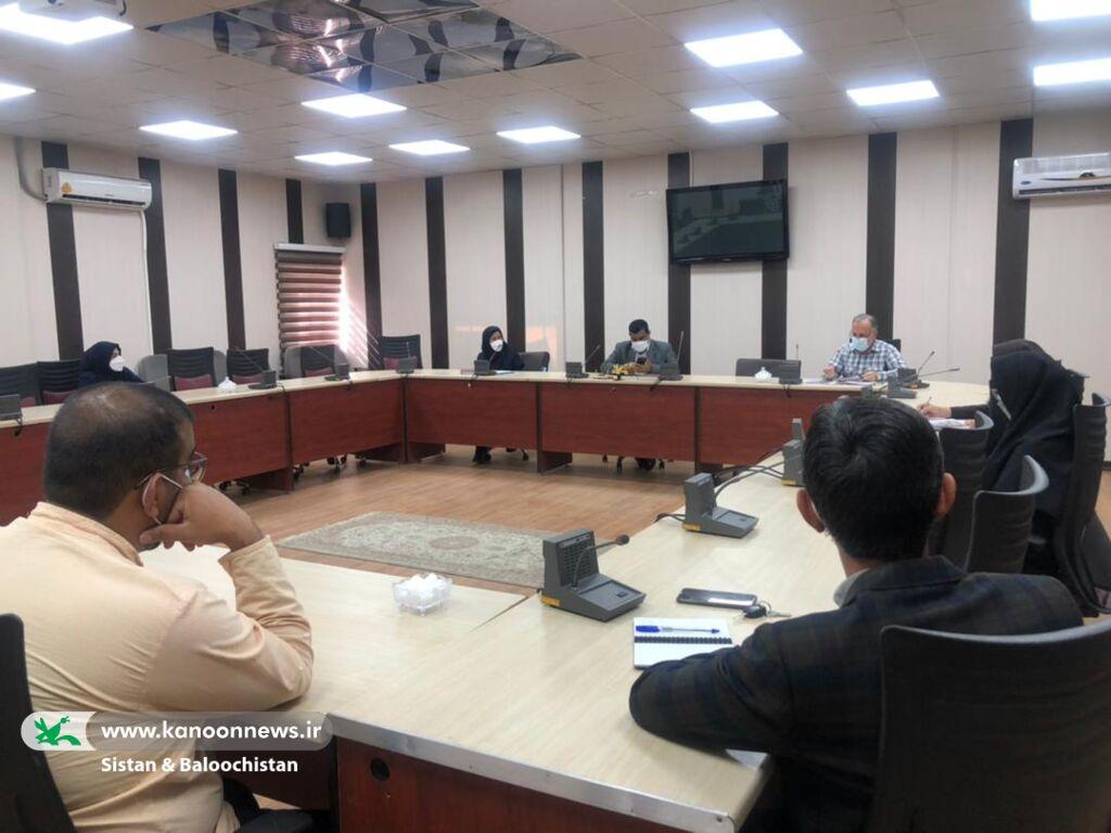 برگزاری جلسهی هماندیشی شیوهی برگزاری جشنواره ملی فصل انتظار در کانون سیستان و بلوچستان
