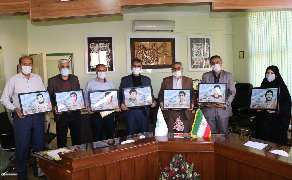 تجلیل از ایثارگران کانون فارس