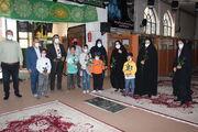 غبار روبی گلزار شهدای یاسوج توسط کودکان و نوجوانان