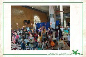 فعالیت های فرهنگی کتابخانه سیار البرز در کلاک