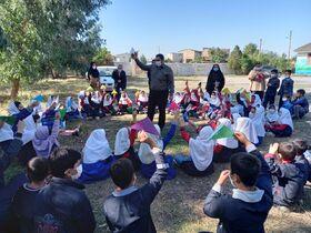 بهرهمندی کودکان روستای تقرتپهی گرگان از فعالیتهای کانونی
