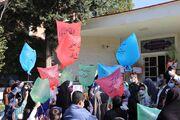 شور و نشاط کودکان و نوجوانان گالیکشی در هفته ملی کودک