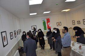گشایش نمایشگاه «رنگ و لعاب» در البرز