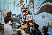 Afghan children and National Children's Week programs