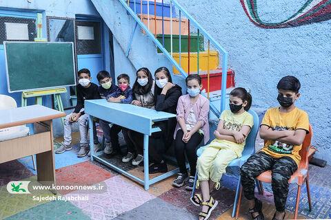 مربیان کانون به دیدار کودکان مهاجر افغانی رفتند