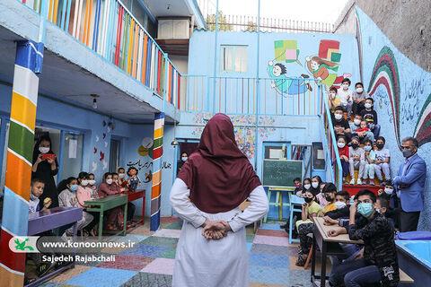 میزبانی کودکان افغانستانی از برنامههای هفته ملی کودک