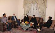 """دیدار با خانواده شهید نوجوان"""" عبدالخالق محمدزاده""""  در یاسوج"""