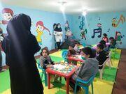 حضور مربیان دهگلان در میان کودکان با نیازهای ویژه