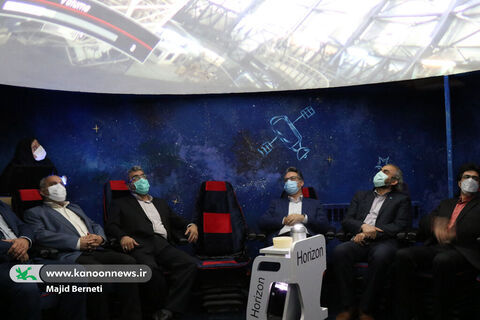 افتتاح آسمان نمای کانون پرورش فکری در ساری