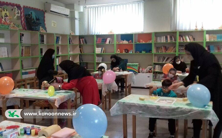 میزبانی کانون گلستان و کردستان از کودکان با نیازهای ویژه