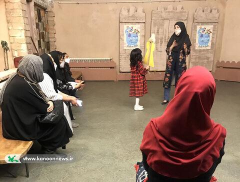 بازدید کودکان از موزه تاریخ در ففته ملی کودک
