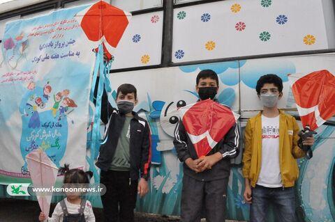 جشن پرواز بادبادکها در زنجان