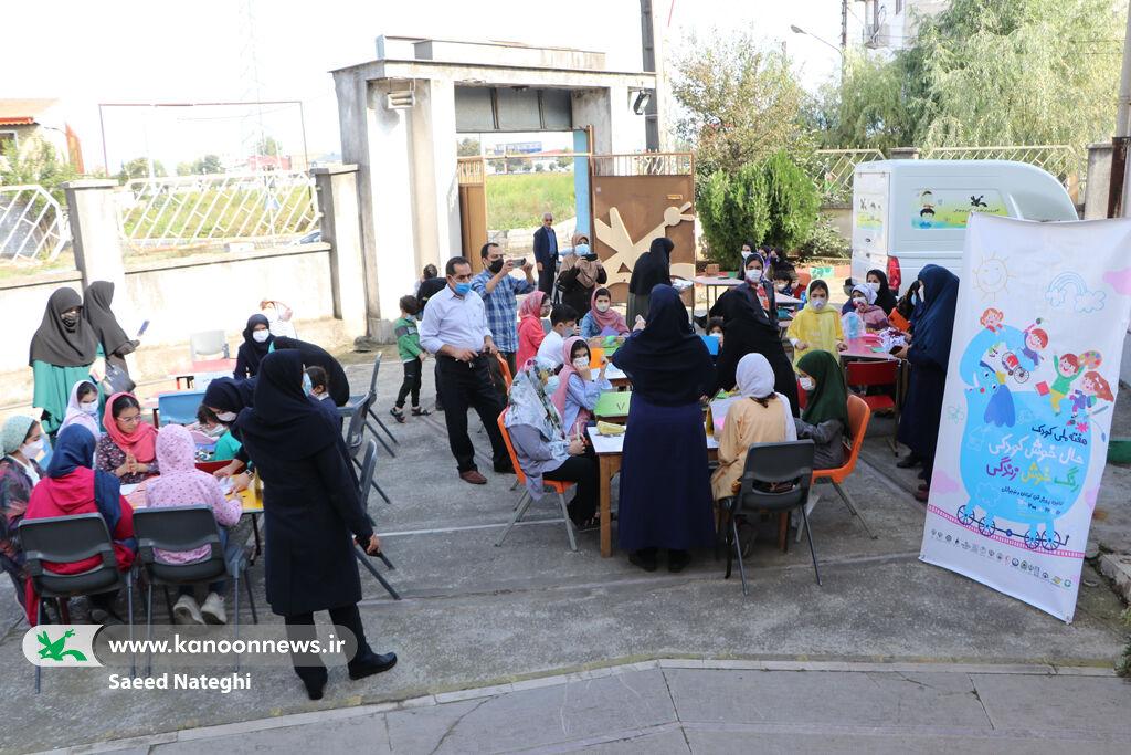 جشن هفته ملی کودک در کانون گیلان