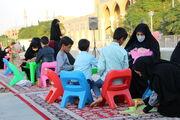 برپایی ایستگاه فرهنگی کانون پرورش فکری قم در حرم حضرت معصومه(س)