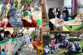 ششمین روز از هفته ملی کودک در مراکز فرهنگی کانون پرورش فکری استان همدان